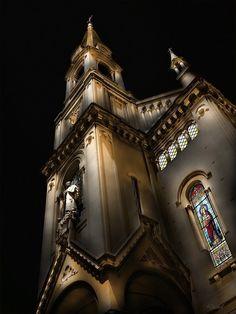 Parroquia San José de Calasanz (by night...), Caballito, Buenos Aires