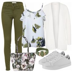 Frühlings-Outfits: greenspring bei FrauenOutfits.de