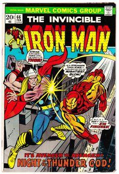 IRON MAN #66 (Feb. 1974) Cover Art by Gil Kane