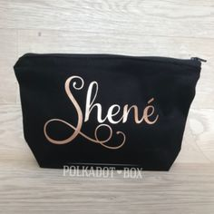 Buy these Custom Name Make Up Bag as lovely gifts for your bridal party. Heat Press Vinyl, Blush Roses, Maid Of Honor, Mother Of The Bride, Lip Balm, Sunglasses Case, Burgundy, Polka Dots, Make Up
