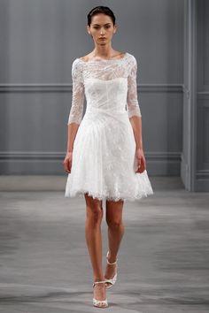 Monique Lhuillier Spring 2014 Bridal 8 - The Cut