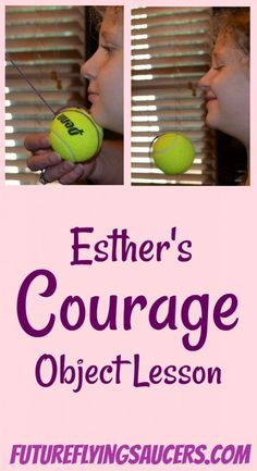 Esther's Courage Object Lesson Use this Esther Bible lesson to teach children that God gives us faith and courage to handle any situation when we trust entirely on Him. Preschool Bible Lessons, Bible Activities For Kids, Bible Object Lessons, Bible Stories For Kids, Bible Study For Kids, Bible Lessons For Kids, Kids Bible, Church Activities, Group Activities