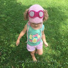 Ravelry: Paw Patrol Inspired Skye Hat pattern by Lace Kennedy Crochet Crochet Paw Patrol Hat, Crochet For Kids, Crochet Baby, Sky Paw Patrol, Crochet Character Hats, Crochet Circles, Crochet Beanie, Crochet Scarfs, Kids Hats