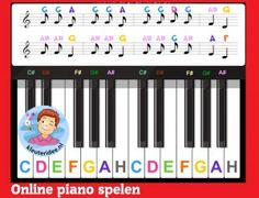 Best Way To Learn Piano – Learn To Play Piano – The Complete Beginners Guide Piano Teaching, Learning Piano, Piano Pictures, Wolf, Easy Piano, Piano Lessons, Music Education, Lessons Learned, Musicals