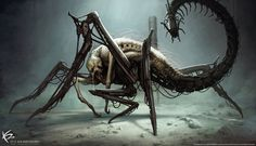 The Maze Runner - Griever Concept Art by KENBARTHELMEY.deviantart.com on @DeviantArt