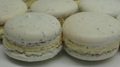 Earl Grey Tea Macarons with Honey Buttercream Filling, via YouTube. Holy smokes I want to make these! Wish I had my kitchen at home hahaha