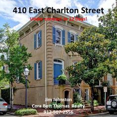 Savannah's Historic District is Hot, Hot, Hot for renovated properties!