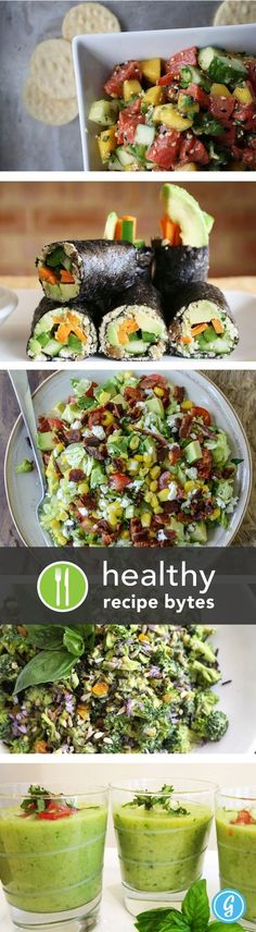 5 Healthy & Simple No-Cook Meals for Summer. Perfect for when you don't want to use the oven in the heat.