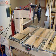 Building a drawer slide CNC machine for under $200! instructables