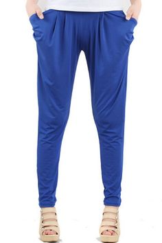 Fashion Multi Color Harem Pants - OASAP.com