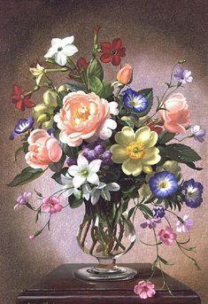 Цветочные натюрморты от Albert Williams - Ярмарка Мастеров - ручная работа, handmade