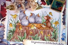 Nataschas Blog: House Mouse and Friends Monday Challenge Mid Way #145