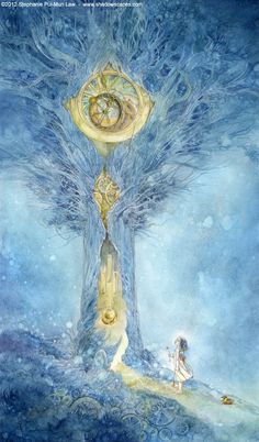 Stephanie Puiman-Law. One of the most amazing fantasy watercolourists I know of.