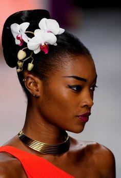 "weloveblackgirls: "" quetzalvevo: ""  Betty Adewole - Issa London Spring/Summer 2013 "" I knew she was nigerian """
