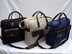 Dia Del Padre Portafolio-bolso Tela Impermeable-cuero - $ 800,00 en Mercado Libre
