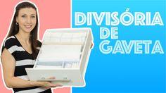 Divisórias de gaveta :: DIY