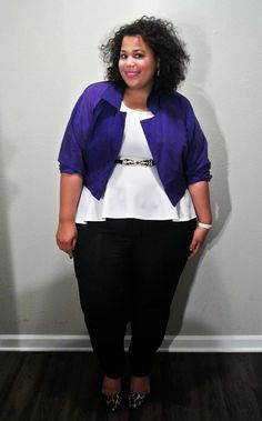 Plus Size Fashion -  GarnerStyle | The Curvy Girl Guide: Casual Connections Part II
