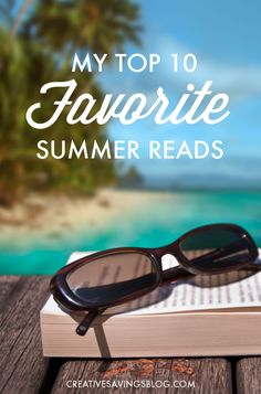 Summer is finally here, and it`s the perfect time to squeeze a few more books into your schedule! These top 10 favorite Summer reads make for an afternoon of fun and relaxation, whether you`re lounging by the pool, sunning on the beach, or cozied up in a big chair right at home!
