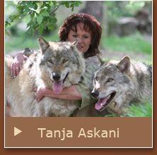 Tanja Askani - Wolfsexpertin, Fotografin und Autorin