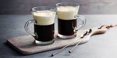 Irish Coffee - Coffee Shop Lady What Is Irish Coffee, Irish Coffee Mugs, Black Coffee, Hot Coffee, Coffee Time, Coffee Shop, Coffee Glasses, Cold Cream, Milkshake Recipes