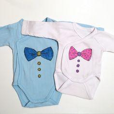 Customise des bodies pour bébé DIY