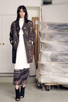 Gary Graham Fall 2015 Ready-to-Wear Fashion Show - Jamie Bochert