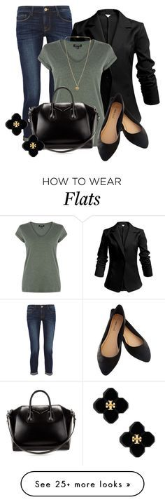 """""""Professional Wardrobe for All Ages Outfit: 38"""" by vanessa-bohlmann on Polyvore featuring Frame Denim, Warehouse, Givenchy, Wet Seal, Tory Burch and Michael Kors"""