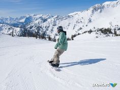 Did you get up and shred at #Snowbird this weekend? It was beautiful #bluebird skies with soft #snow.