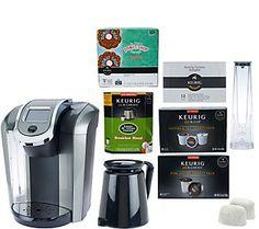 Keurig 2.0 K550 Coffee Maker w/ 36 K-Cup & 12 K-Carafe Packs