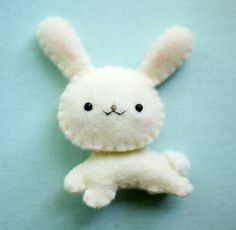cute felt bunny