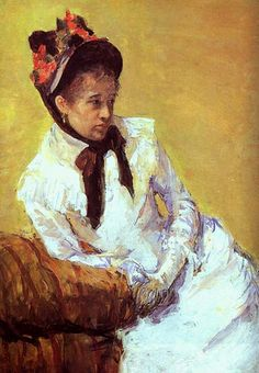 Cassatt, Mary (1844-1926) - Self Portrait