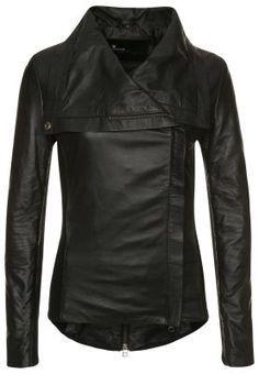 Goosecraft - Leren jas - Zwart