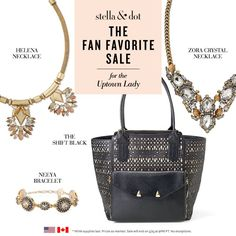 AMAZING Flash Sale online at Stella & Dot...gorgeous fan favorites for up to 50% OFF for the next 48 HOURS ONLY! Grab your faves before they're gone!
