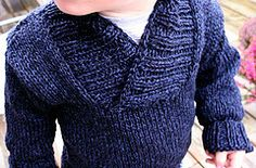 Ravelry: Oh, handsome Winter-sweater pattern by Anna & Heidi Pickles