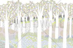 Bird Forest - Wall Mural & Photo Wallpaper - Photowall