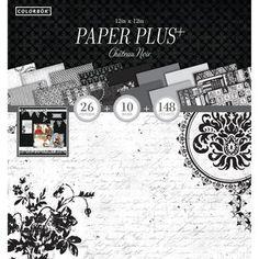 """Colorbok 12"""" Paper Plus Pad, Chateau Noir $5.00"""
