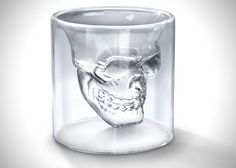 Doomed Crystal Skull Shot Glass  **Bought these for my man's bar and they are really cool - a great gift for someone who has everything (or almost everything).