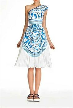 Clover Canyon Corinthian Vase Dress