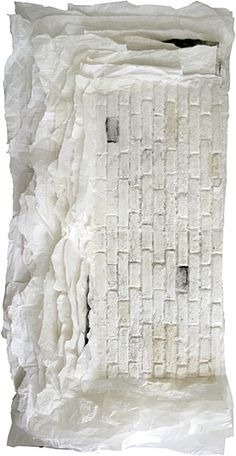 Lin Yan | Monument #8, chinese paper and ink