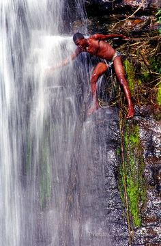 Tanougou Waterfall, Benin