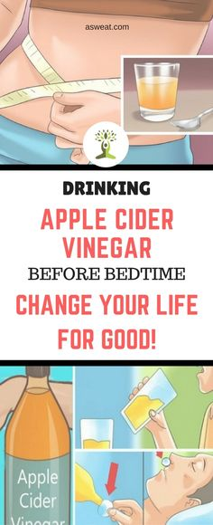 Drinking Apple Cider Vinegar Before Bedtime Will Change Your Life For Good We al… - Detox minceur Apple Cider Vinegar Warts, Apple Cider Vinegar Remedies, Detox Drinks, Healthy Drinks, Healthy Nutrition, Healthy Treats, Healthy Foods, Treatment For Sore Throat, Change Your Life