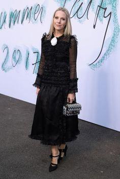 Celebrities Wearing Black At The Serpentine Summer Party   British Vogue