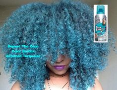 Natural Hair| Beyond The Zone Color Bombz| Untamed Turquoise