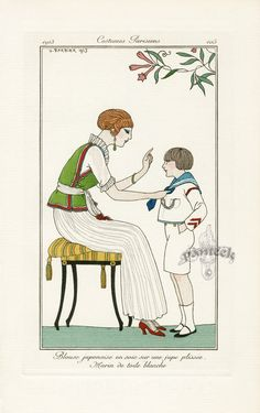 Journal des Dames et des Modes 1913 - Barbier