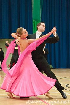 International Standard waltz (ballroom dance).
