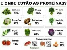 And were are the proteins