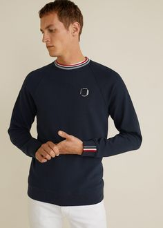 Discover the latest trends in Mango fashion, footwear and accessories. Shop the best outfits for this season at our online store. Sweat Shirt, Casual, Mango Fashion, Man United, Mens Sweatshirts, Latest Trends, Cool Outfits, Sweater, Long Sleeve