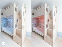 pokój dla dzieci -zamek łóżko
