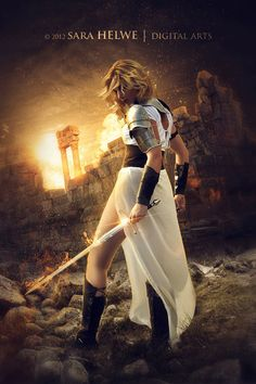 The Warrior by sara-hel.deviantart.com on @deviantART