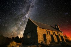 Photo The Church of the Good Shepherd by Itay Gal on Lake Tekapo, The Good Shepherd, New Zealand, Good Things, Photography, Photograph, Fotografie, Photoshoot, Fotografia
